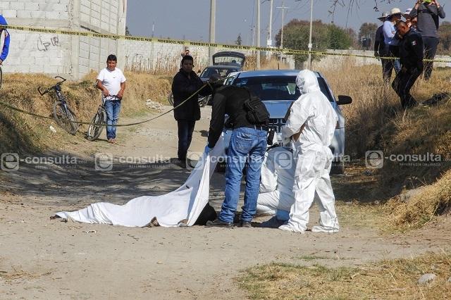 Hallan cadáver calcinado en terrenos de Huejotzingo