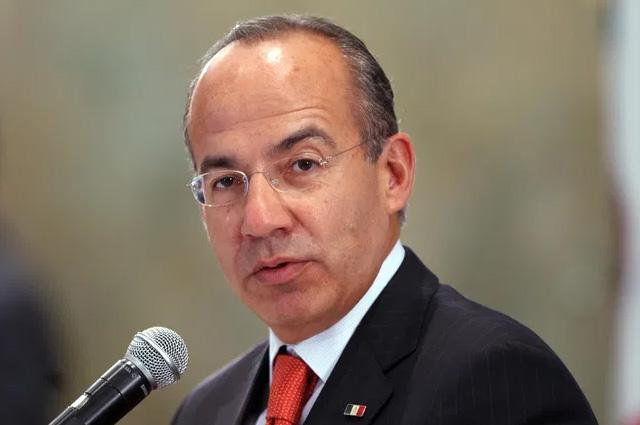 Felipe Calderón da positivo a Covid-19