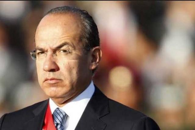Calderón se culipandea y borra tuit en contra de Donald Trump