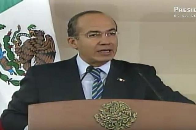 Felipe Calderón niega haber presionado al presidente de la Corte