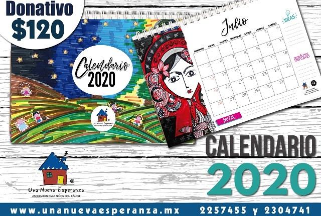 Hacen Calendario 2020 para ayudar a niños con cáncer, ¿quieres apoyar?
