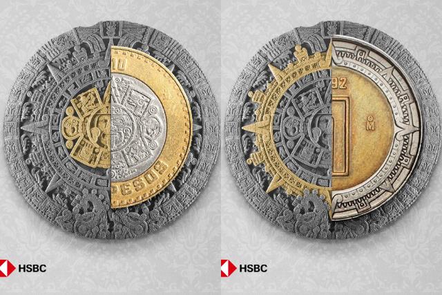 2ade801856c ¿Sabías que si juntas los anillos de las monedas puedes crear un Calendario  Azteca? | e-consulta.com 2019