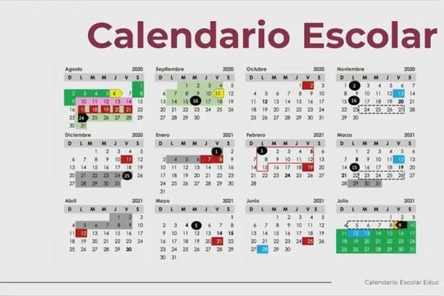 Así quedó calendario escolar 2020-2021 de la SEP y estos son los puentes