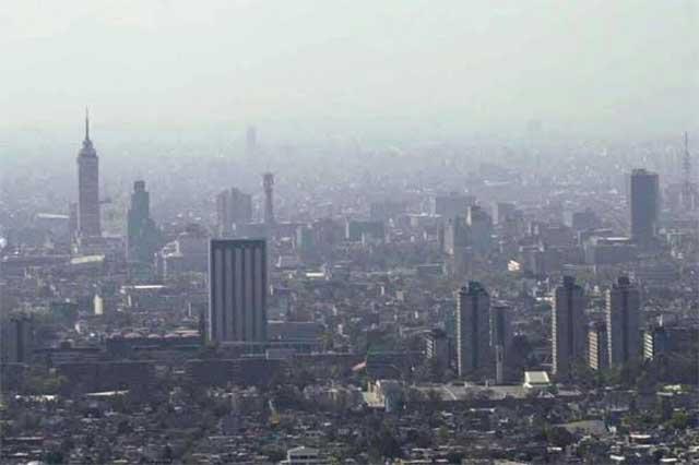 Reportan mala calidad del aire en el noreste del Valle de México