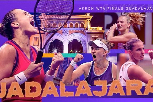 WTA Finals Guadalajara: suman 7 clasificadas de 8 posibles