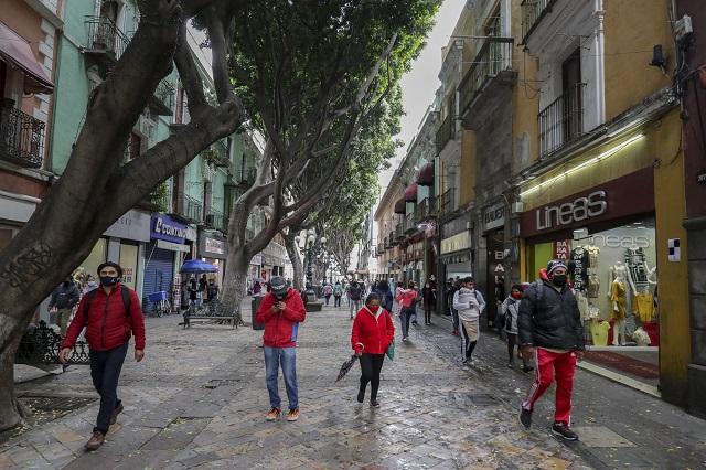 Siguen sin permiso obras en centro histórico de Puebla