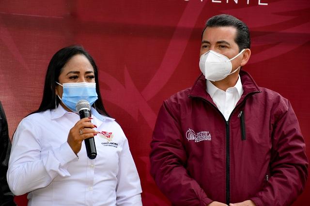 Lupita Daniel y Luis Alberto Arriaga encabezan inicio de la Calle Tlaxcala