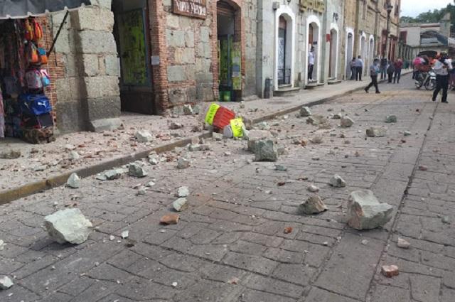 Por el sismo, seis muertes y daños en hospitales de Oaxaca