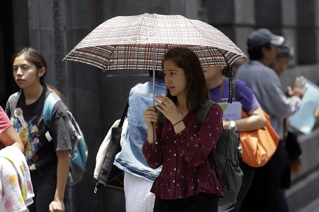 Pese a lluvias, temperaturas de 35 grados en Puebla: Conagua