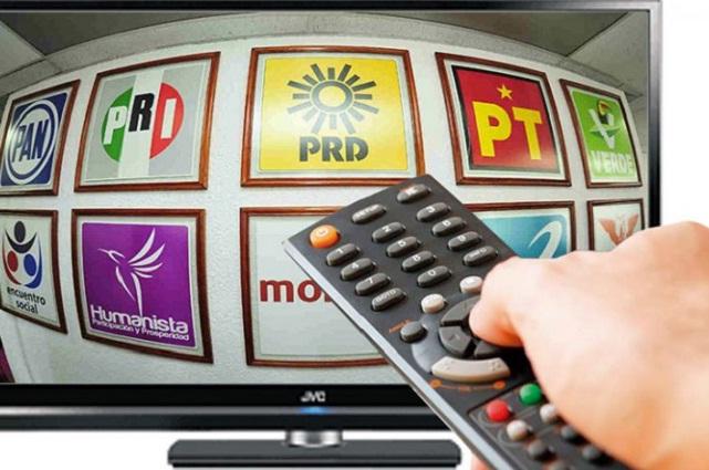 Durante campañas, candidatos difundirán 26.8 millones de spots radio y TV