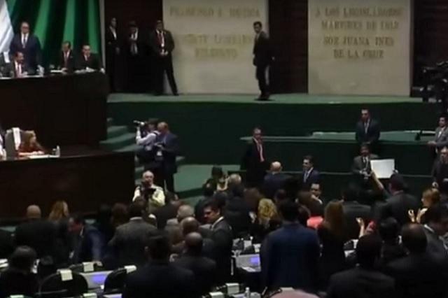 Antorcha niega que sean ellos quienes secuestraron a legisladores en San Lázaro