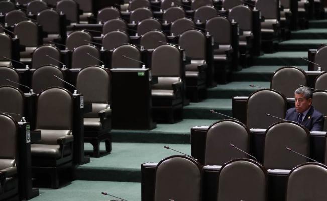 Frente legislativo 'revienta' sesión en la Cámara de Diputados