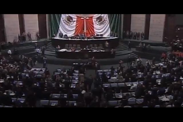 Legisladores frenan reducción de financiamiento a partidos políticos