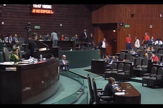 Diputados avalan Ley de Extinción de Dominio y la envían al Ejecutivo