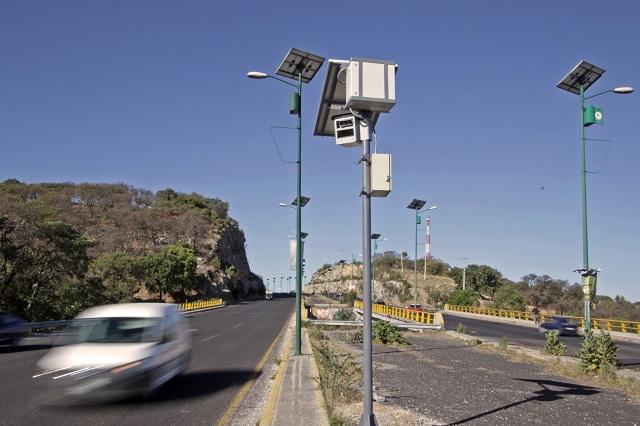 Registró Puebla 823 multas diarias por exceso de velocidad en 2019