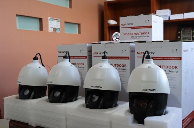 Instalan cámaras de seguridad en Teteles de Ávila Castillo