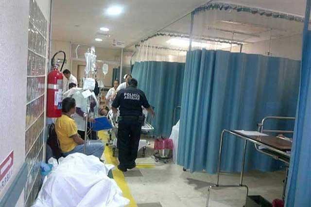 Una cama de hospital por cada mil 800 habitantes, hay en Puebla