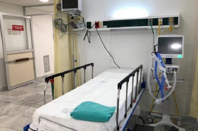 Cerca de la saturación, camas para pacientes Covid en CDMX