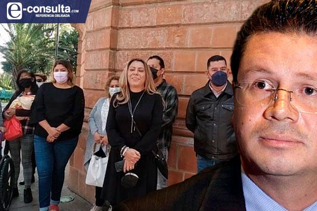 Comité del PES en Cholula se va con Morena para apoyar a Lorenzini