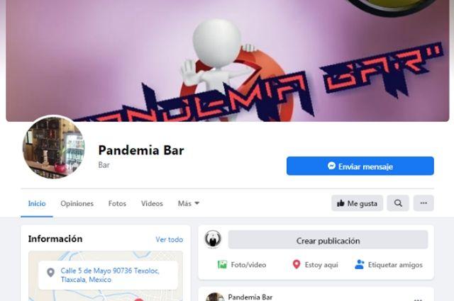 Rebautizan bar como La Pandemia y sigue en servicio, en Tlaxcala