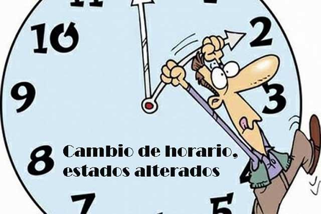 Cambio de horario altera a muchos mexicanos…