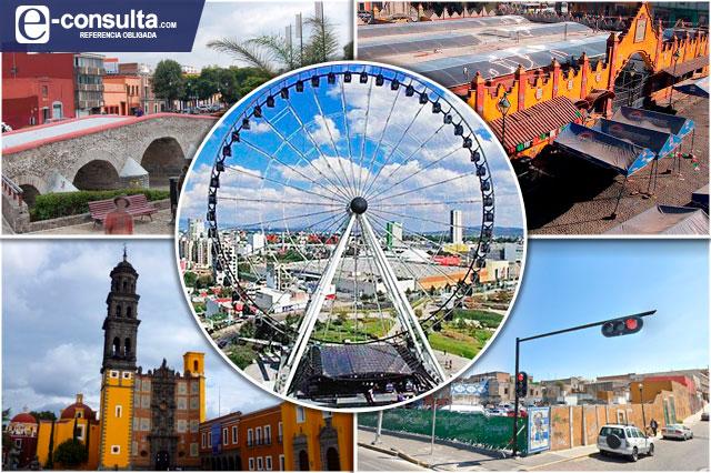 Ven despegue de 4 barrios con Estrella de Puebla en el centro histórico