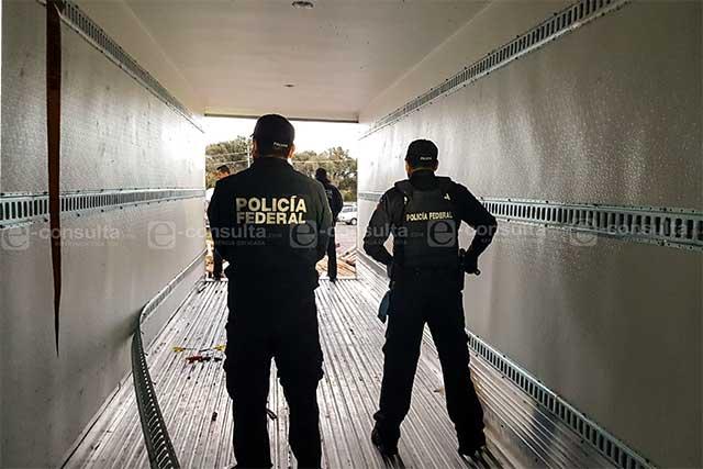 Aseguran 310 kilos de cocaína en Puebla