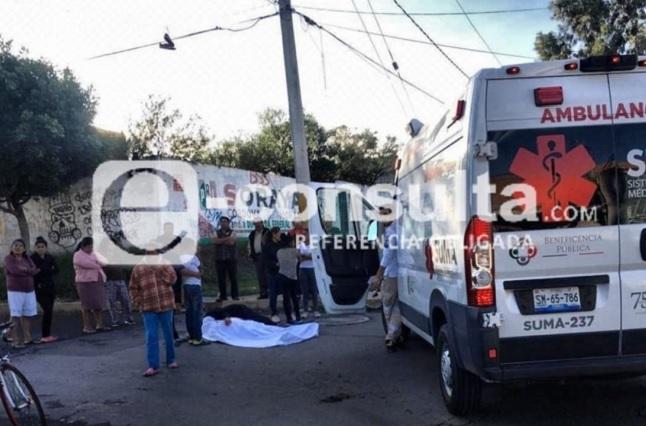 Camión de volteo atropella y mata a vecino en Historiadores