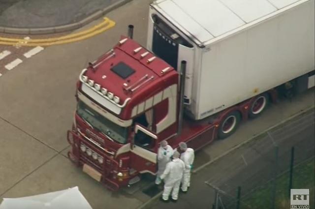 Los 39 muertos hallados en camión en Londres eran ciudadanos chinos