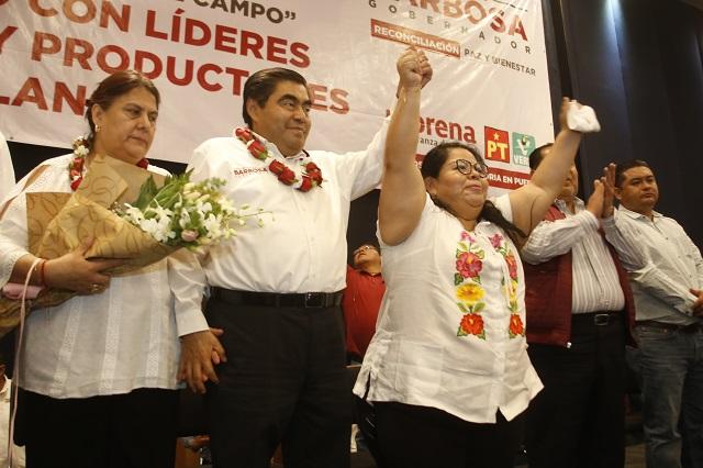 CNC y Maritza Marín dejan el PRI y se van a campaña de Barbosa