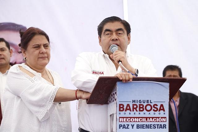 Prevé Miguel Barbosa que el PAN impugnará la elección