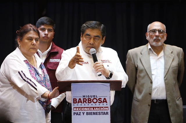 Barbosa acusa espionaje y exige al PAN no violentar elección