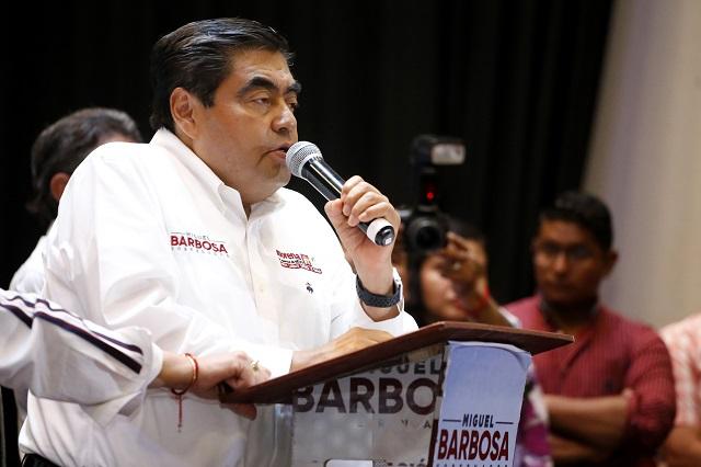 Ofrece Barbosa liberar a presos políticos del morenovallismo