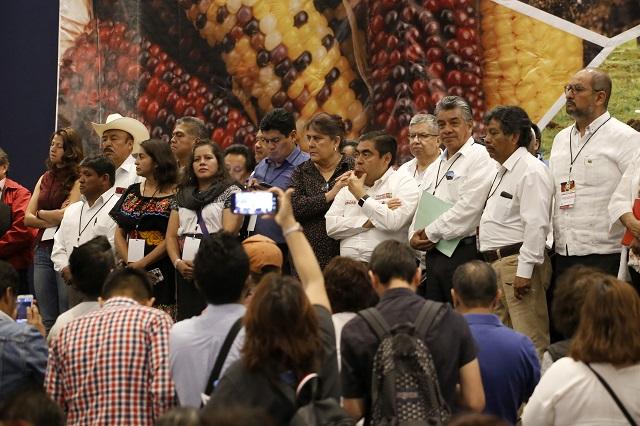 Se reúne Barbosa con el Movimiento Campesino Plan de Ayala Siglo XXI