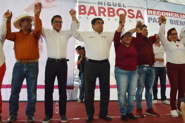 Afirma Barbosa que repartirá cargos solo con evaluación previa