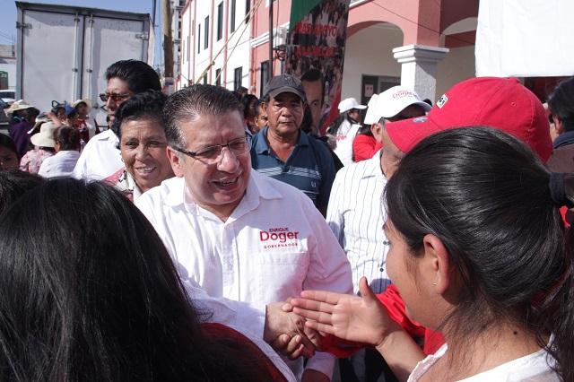 Moreno Valle está detrás de las traiciones de priístas: Doger