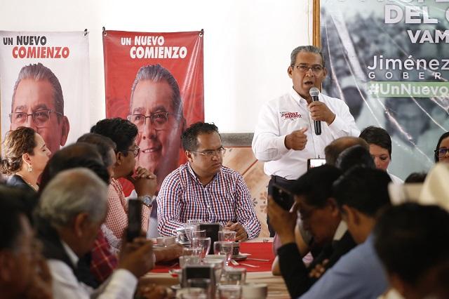 PRI acusa a gobierno de Pacheco Pulido de intervenir en elección