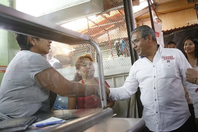 Promete Jiménez Merino hospitales que funcionen