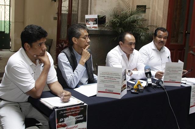 Presentan plataforma para denunciar delitos electorales