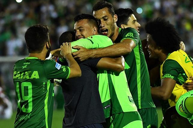 Conmebol anuncia que el Chapecoense es campeón de Copa Sudamericana