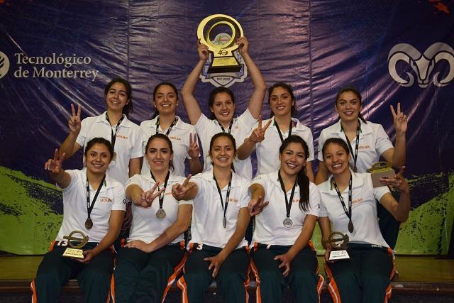 Aztecas UDLAP, campeonas de Primera Fuerza de voleibol de CONADEIP