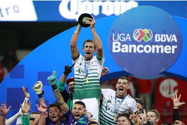 Santos se corona como campeón del Clausura 2018
