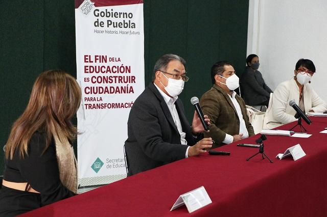 Inician campaña contra la deserción escolar en Puebla