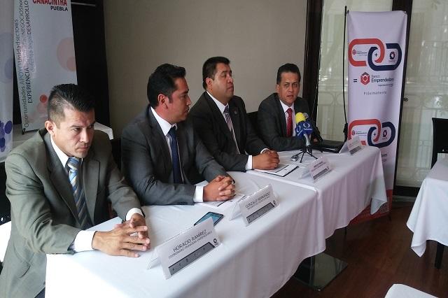 Abren línea de crédito para socios de Canacintra hasta por 20 mdp