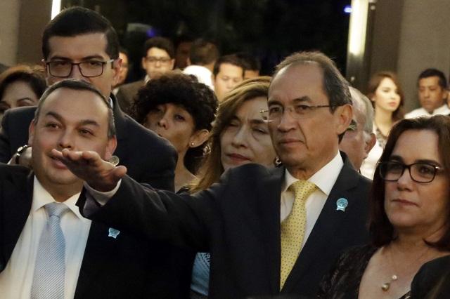 Rindió protesta nuevo consejo directivo de la Canaco en Puebla