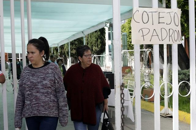 Se cae elección de consejeros de Morena en Puebla y Teziutlán
