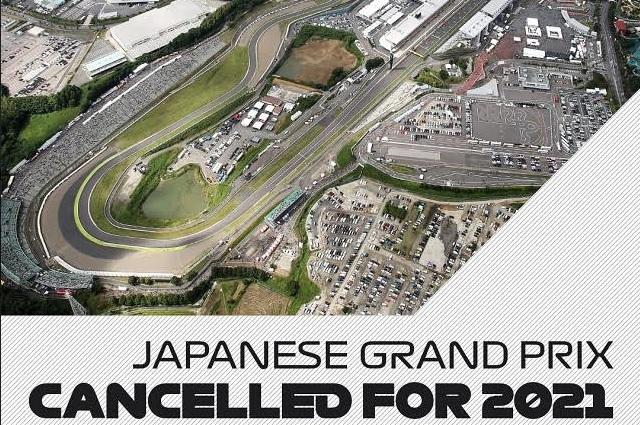 F1: Cancelan GP de Japón por segundo año consecutivo