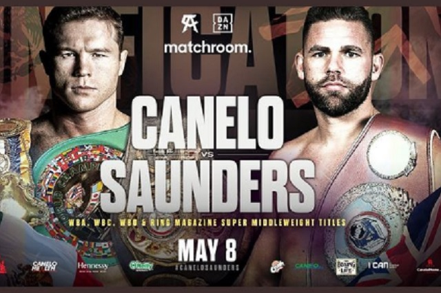 'La pelea se cancela', dice padre de Saunders, próximo rival de 'Canelo'