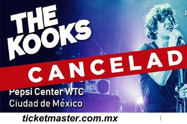 The Kooks canceló todos sus conciertos en México