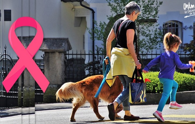 Casos de cáncer de mamá por herencia genética